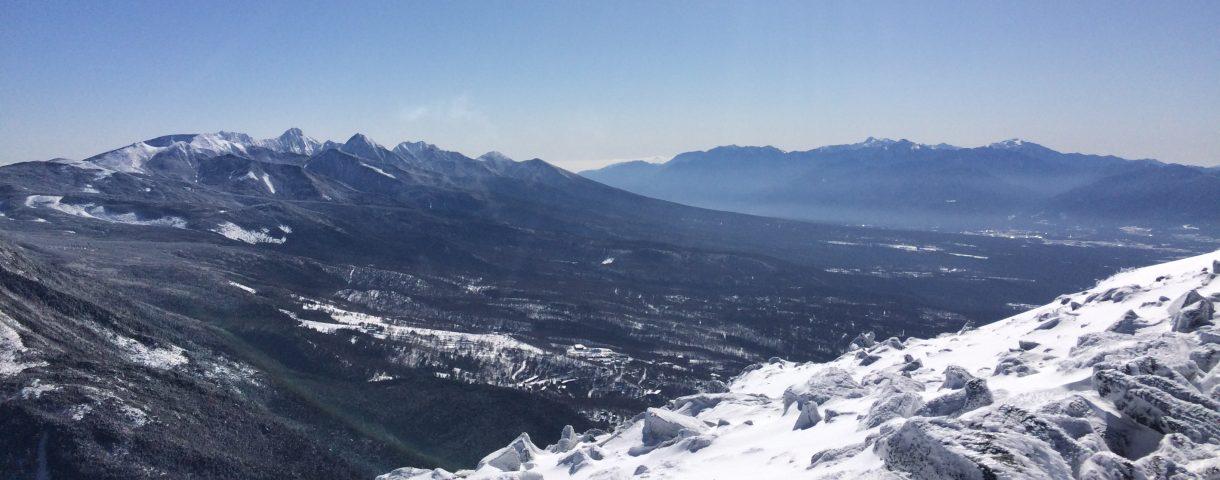 17'初登山は蓼科山。