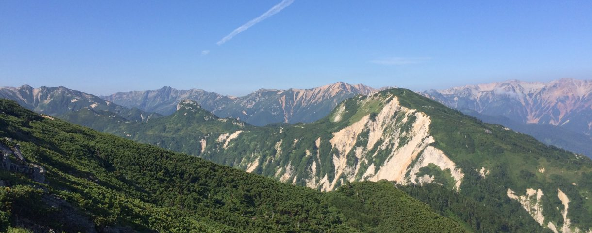 Prefectural Peak Hunting 6: 奥穂高岳(北アルプス縦走・前編)