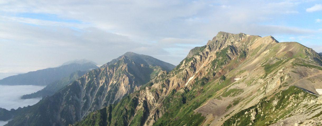 Prefectural Peak Hunting 7: 小蓮華山(北アルプス縦走・後編)