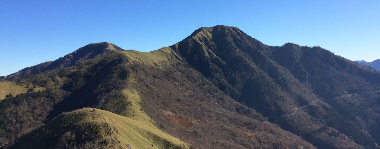 Prefectural Peak Hunting 34: 三嶺(みうね)