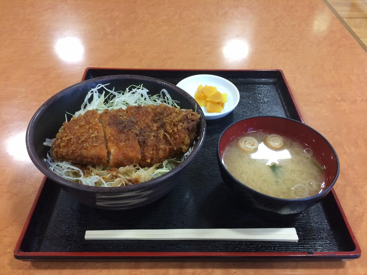 ソースカツ丼@こまくさの湯