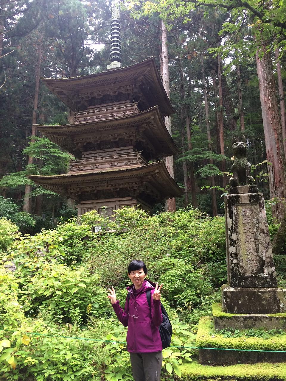 三重塔と早太郎、と母