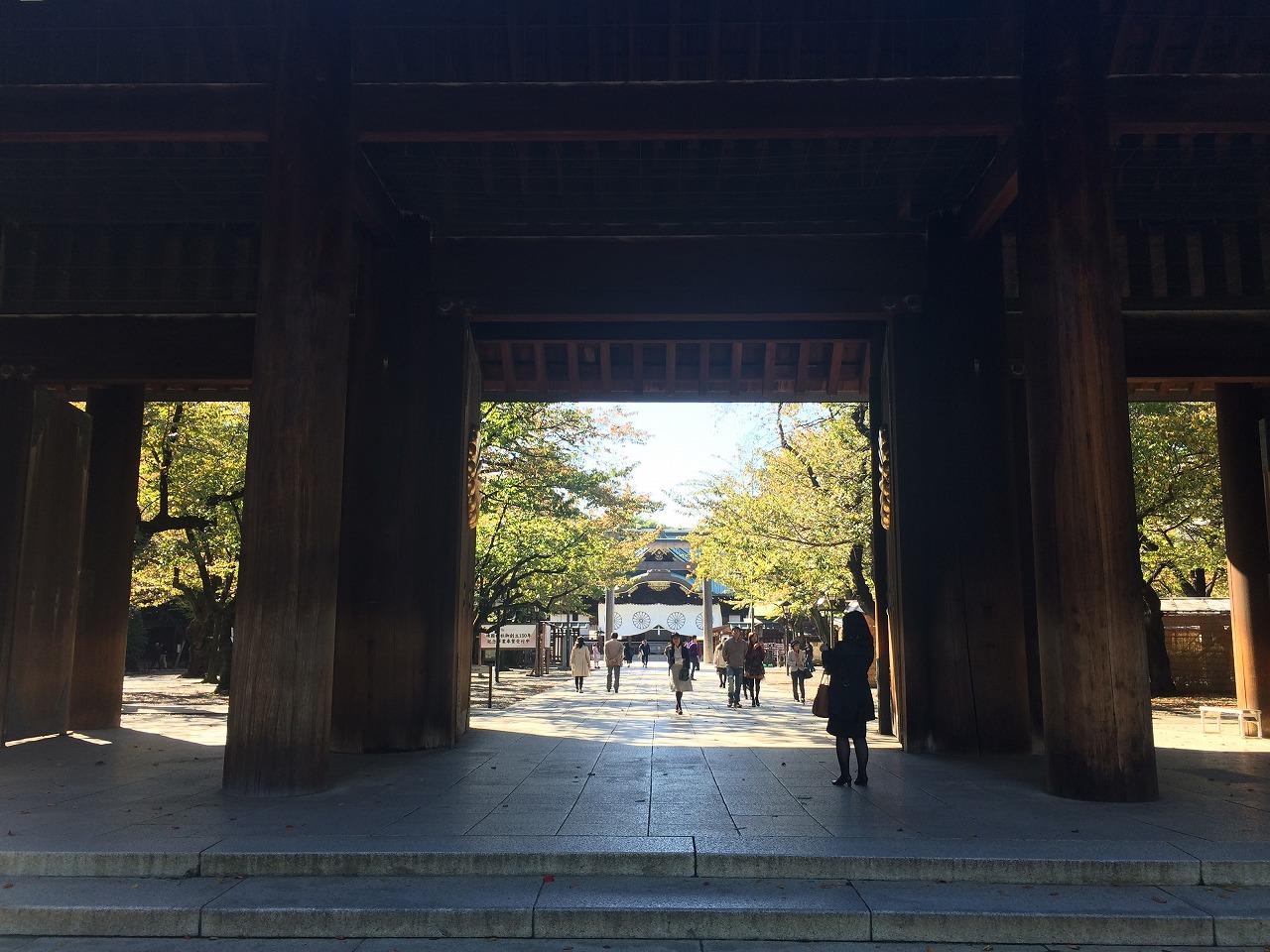 靖国神社写真1
