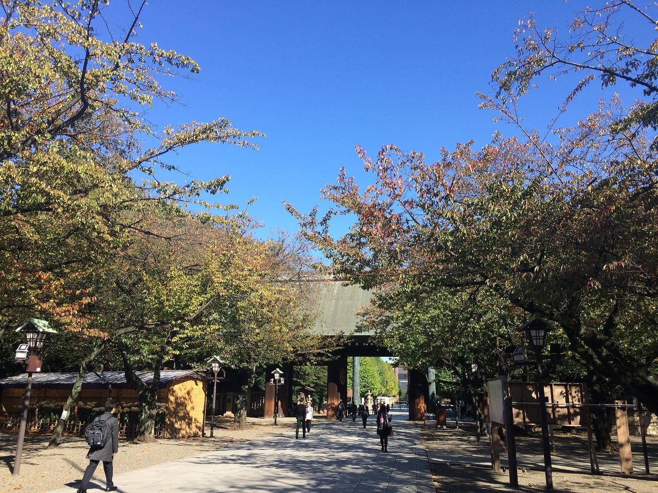 靖国神社写真2