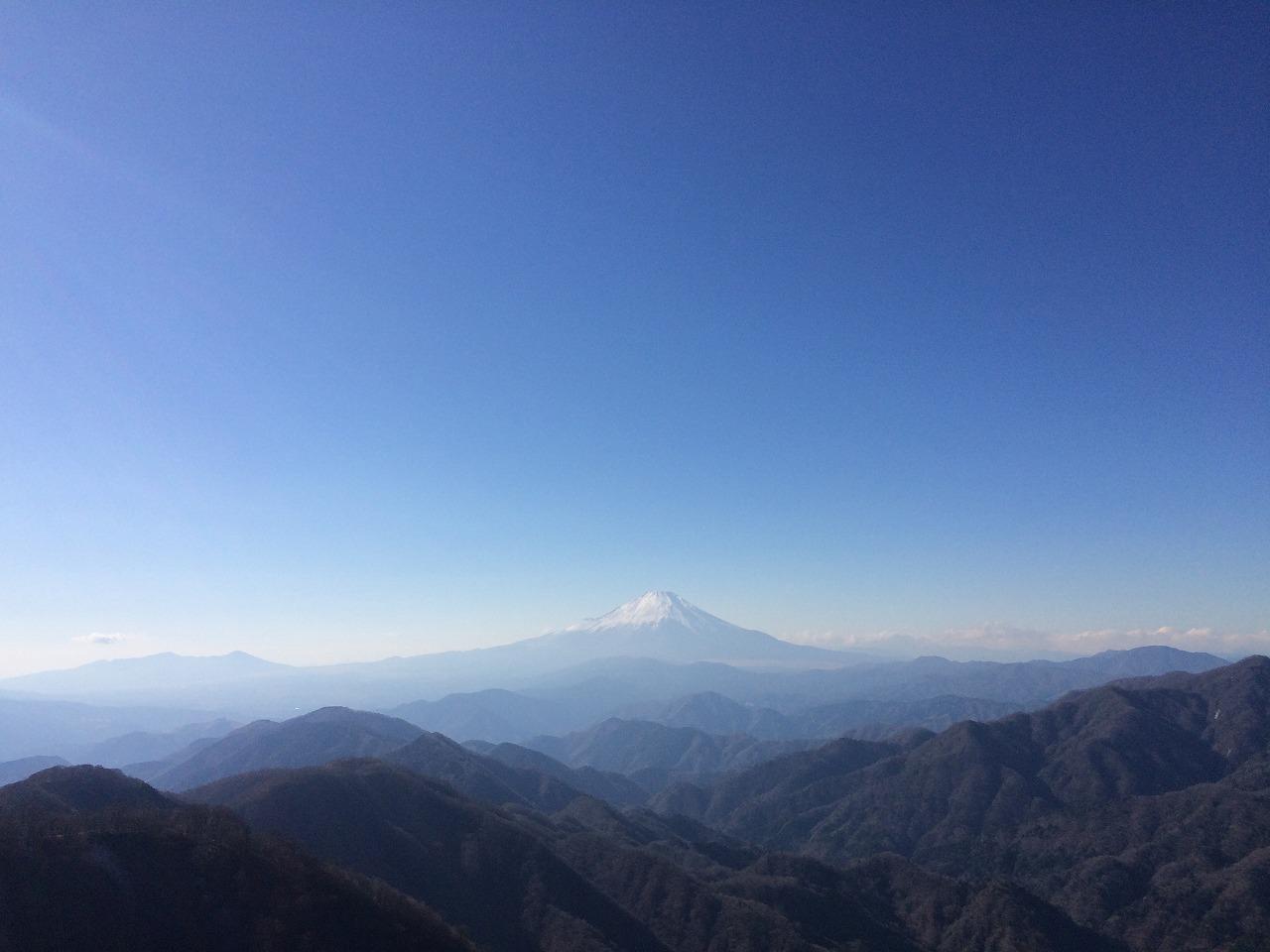 富士山どーん!
