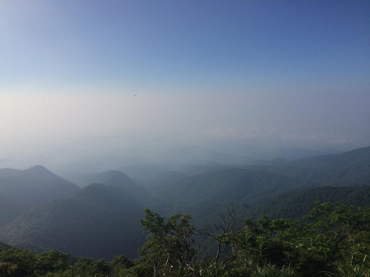 駒ヶ岳からの景色。