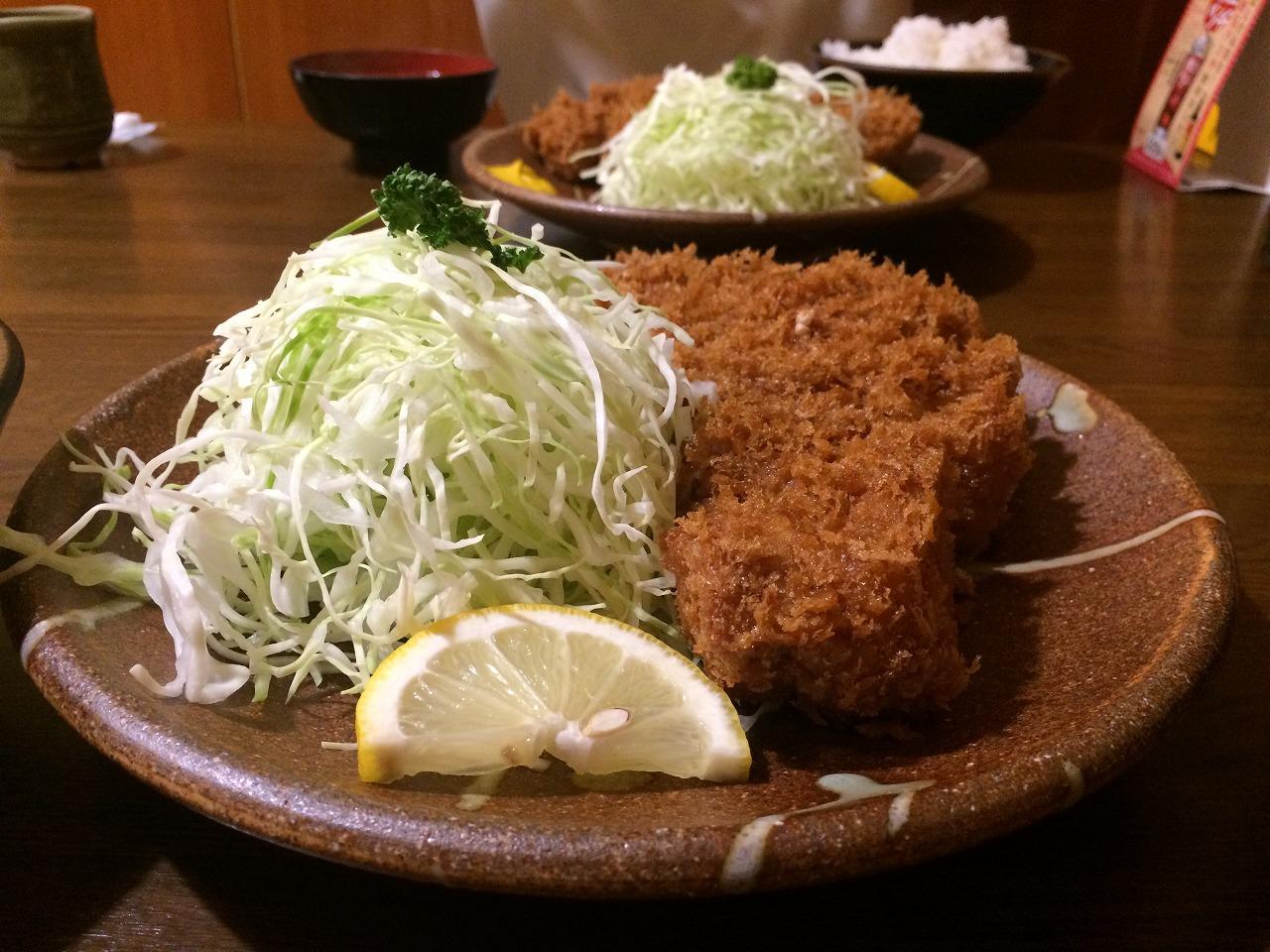 トンカツ定食!!
