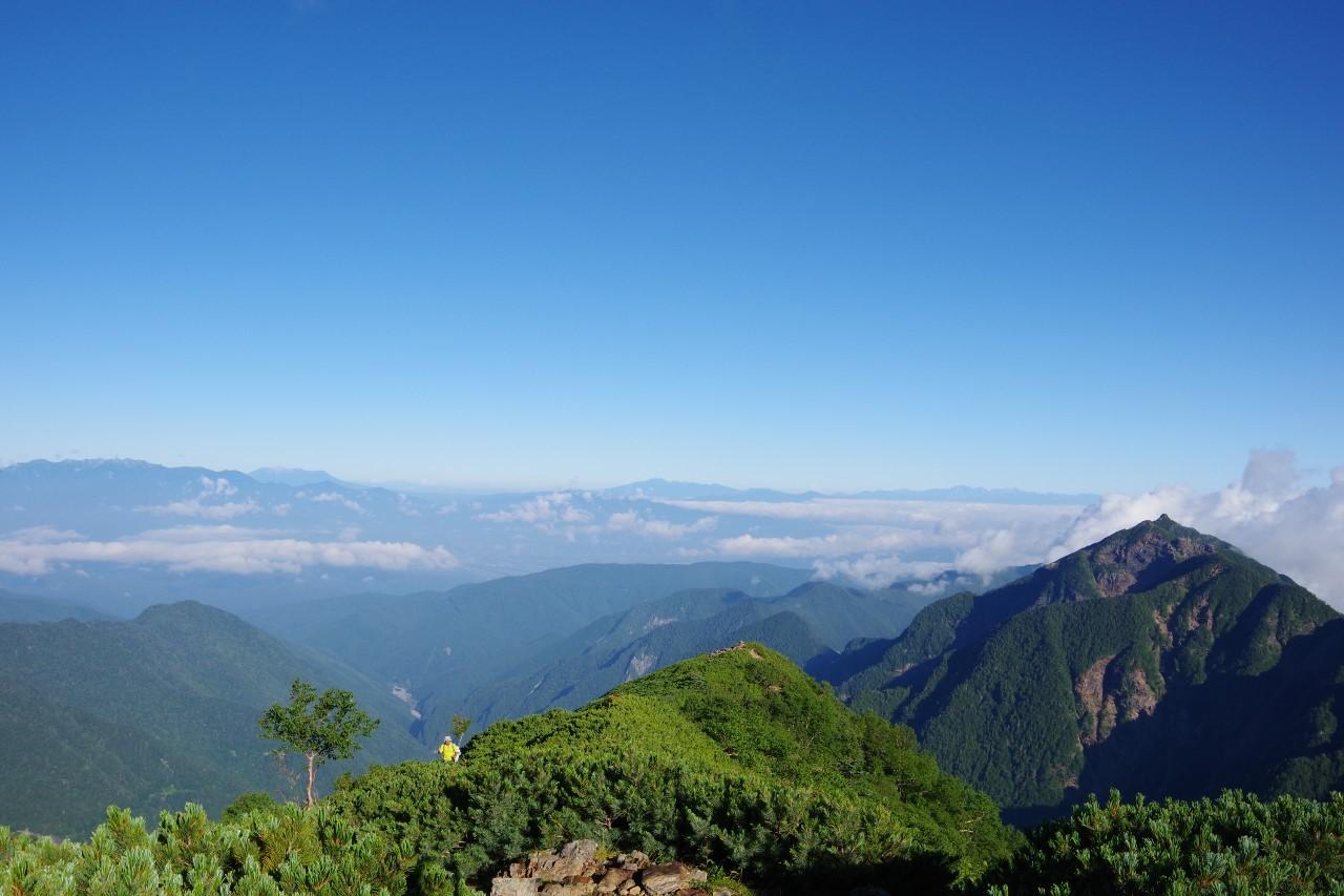 駒津峰からの展望