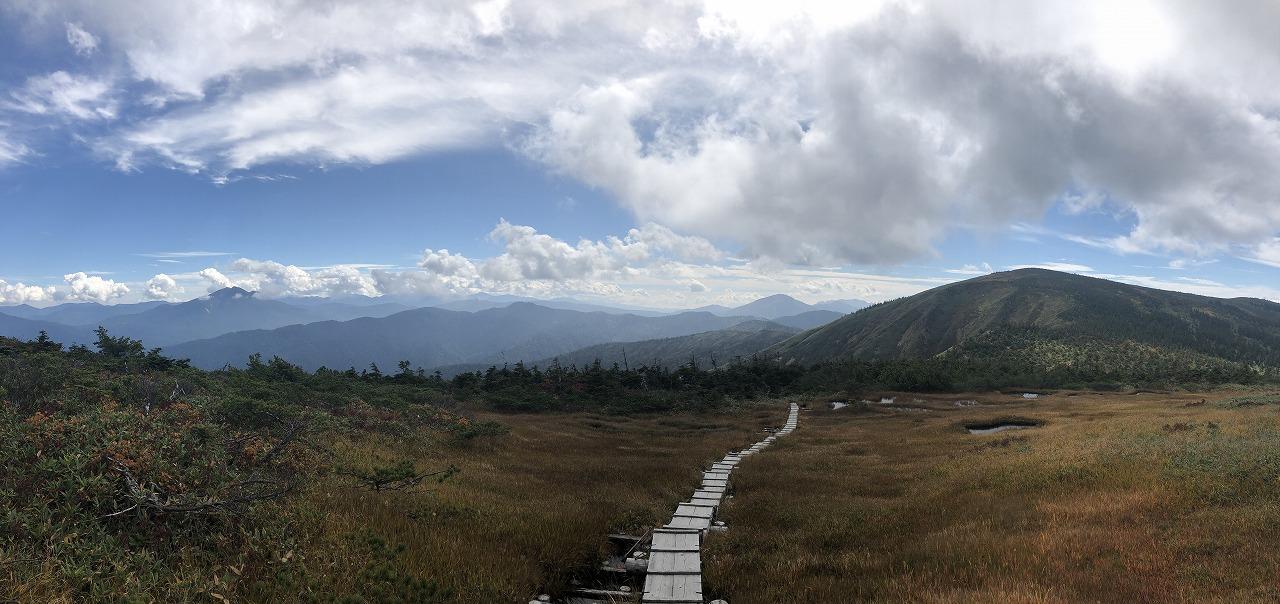 池ノ岳からのパノラマ
