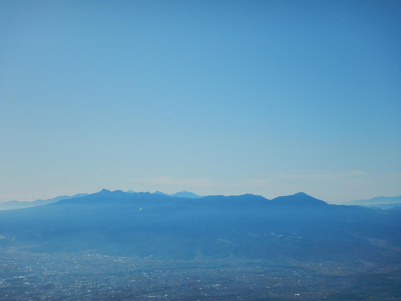 八ヶ岳と南ア