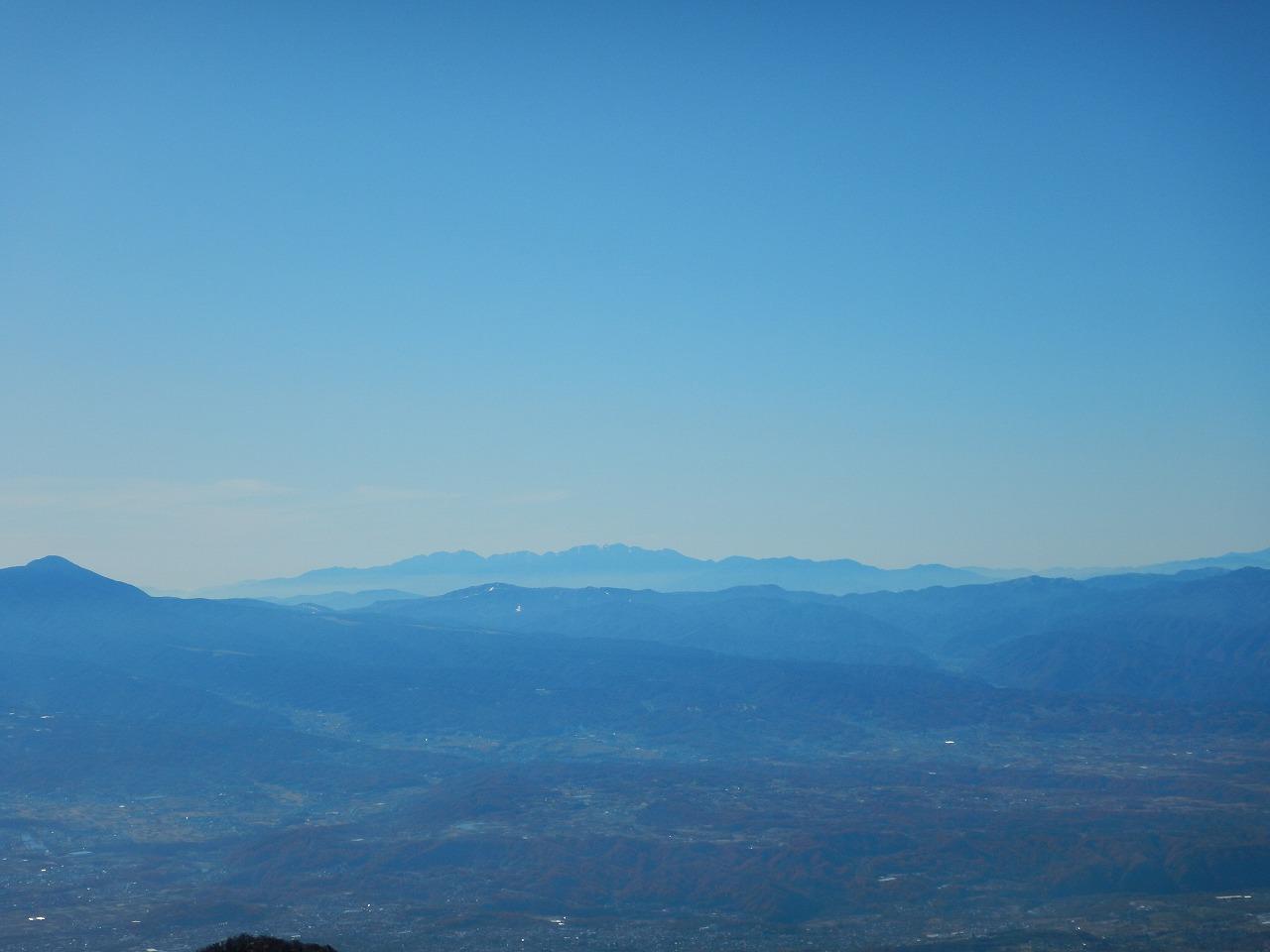 霧ヶ峰と中央ア