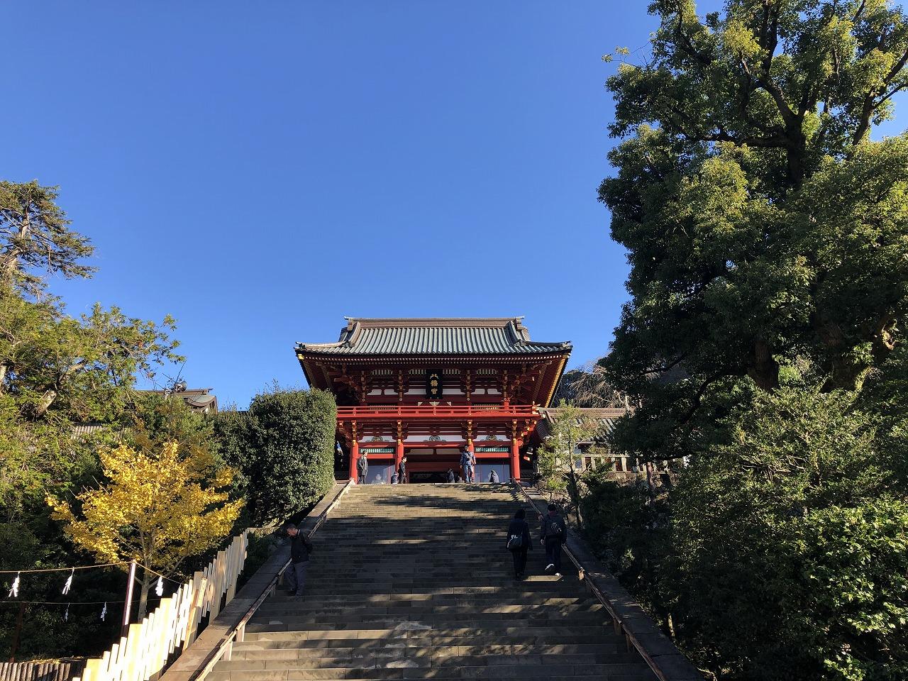 鶴岡八幡宮、本宮