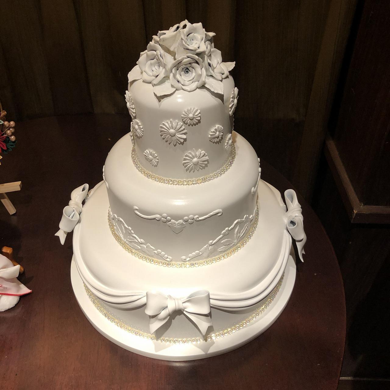 Z製作ウェディングケーキ
