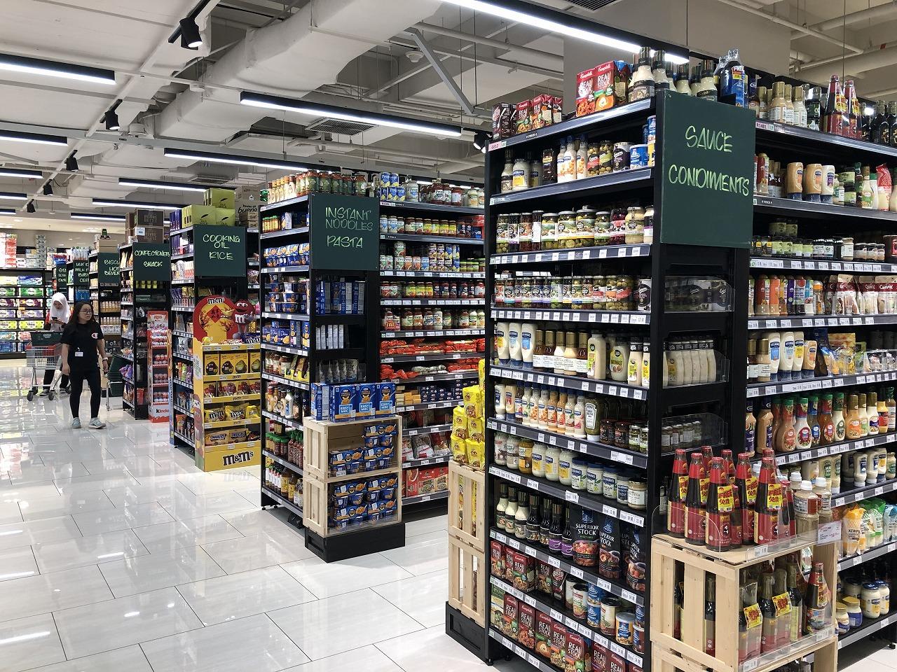 シドニーっぽいスーパー
