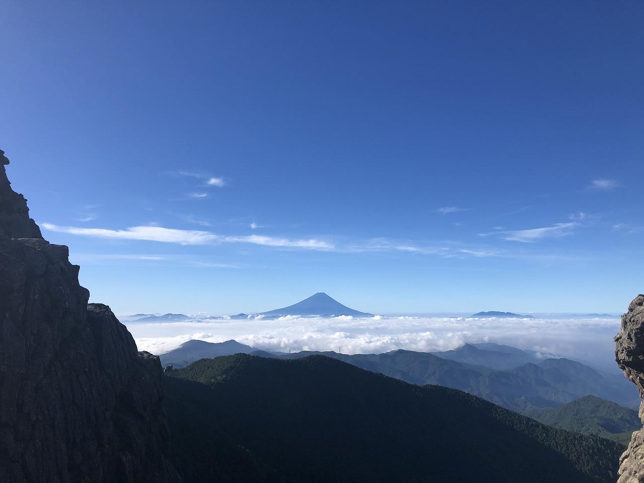 富士山出現