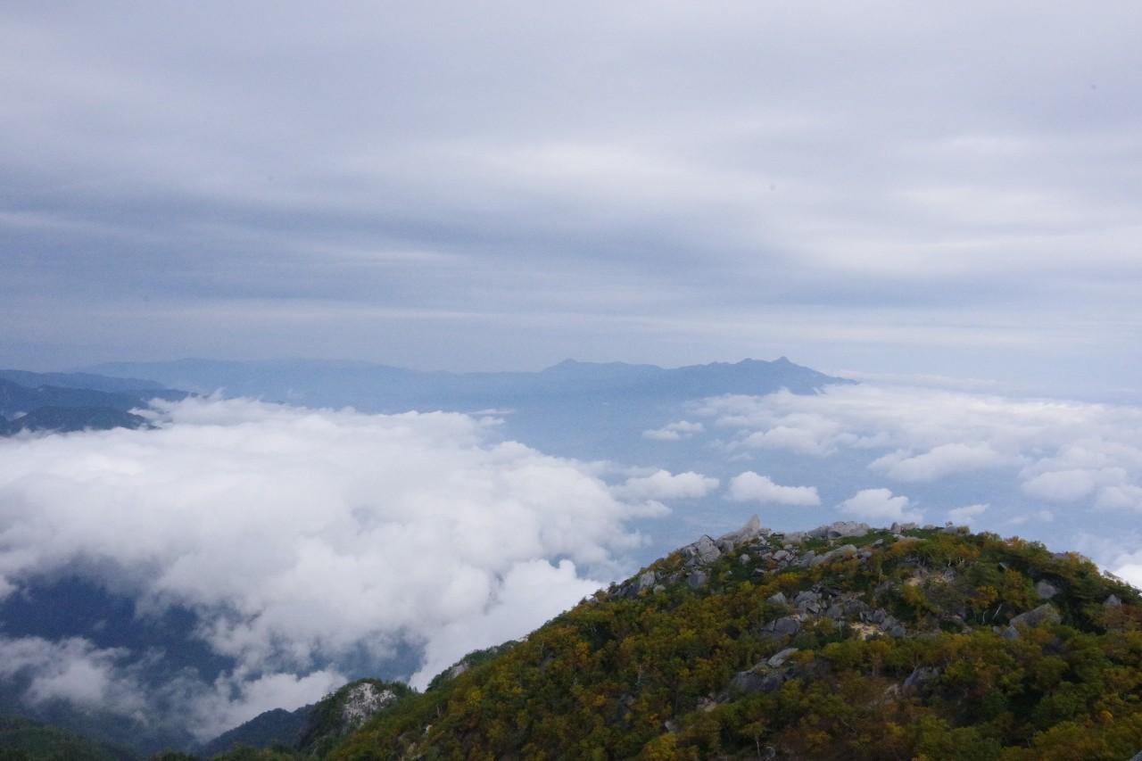 八ヶ岳の山々