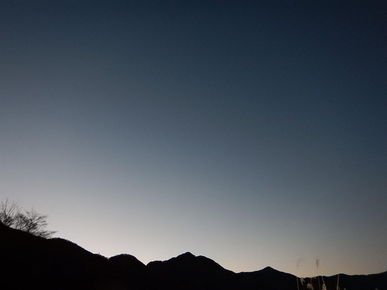 雲取山は遥か遠い