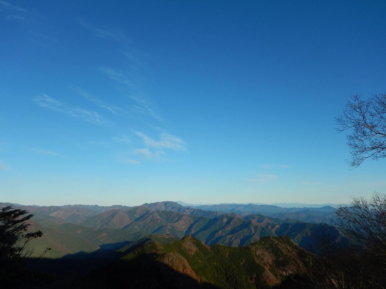 両神山がよく見える