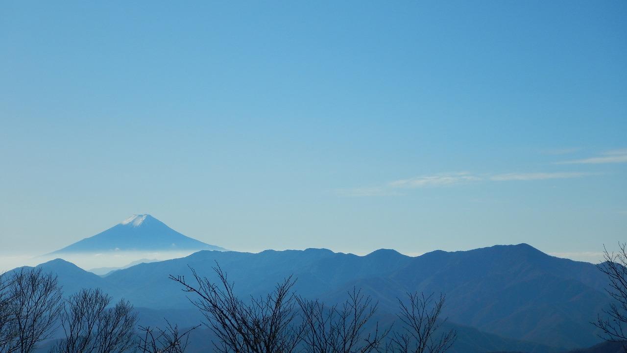 富士山と大菩薩嶺