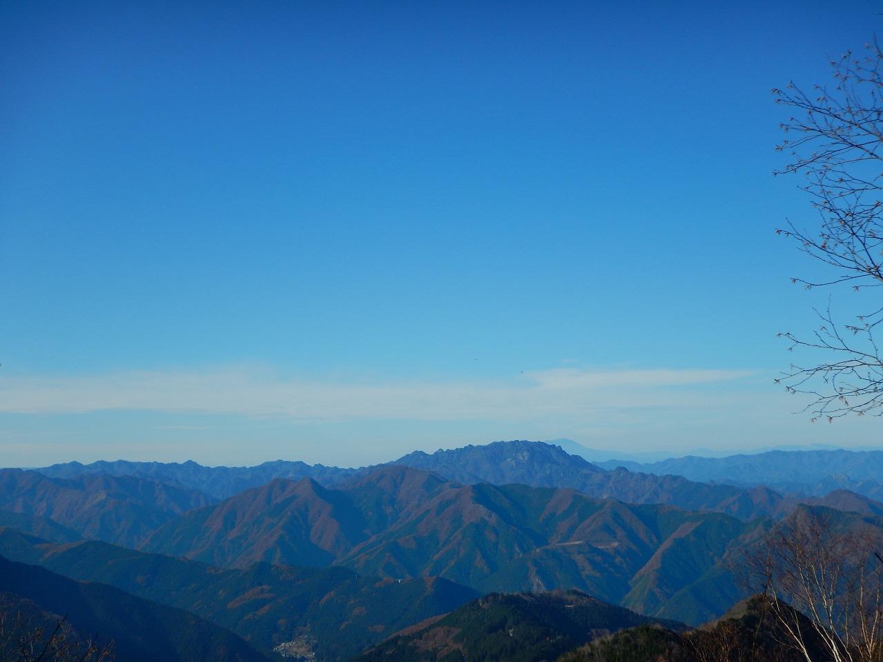 両神山がよく見える、再び