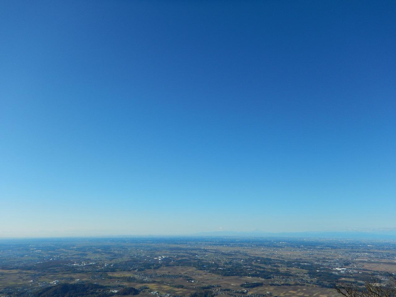 絶景!富士山方面