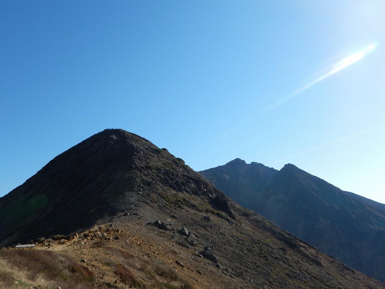 夏の那須岳、快晴、其の二