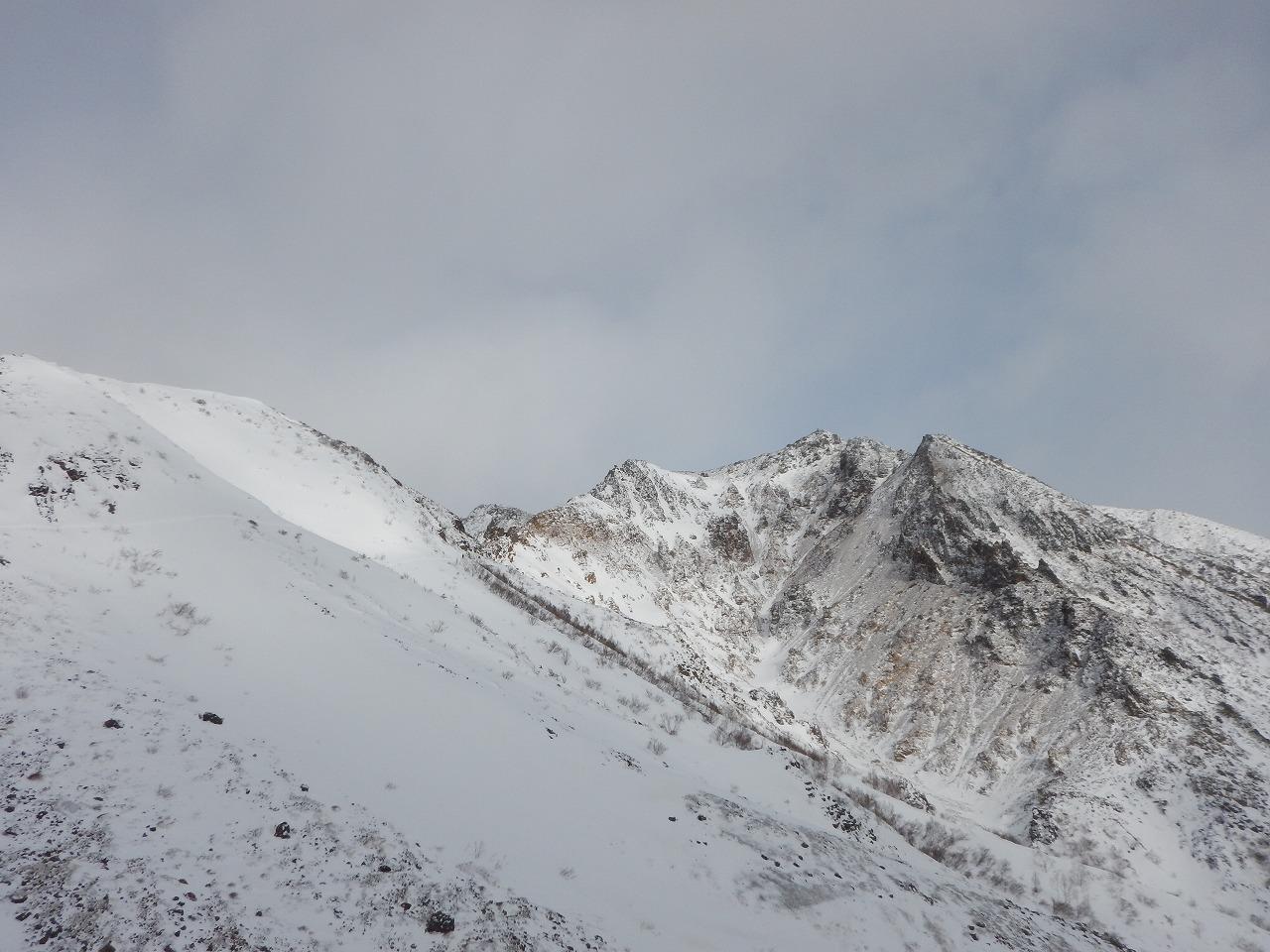 岩と雪と氷の世界