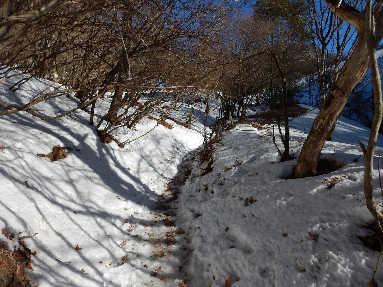 そして雪道へ