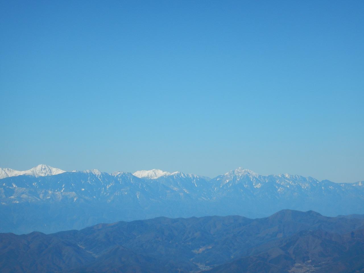 甲斐駒ヶ岳~北岳