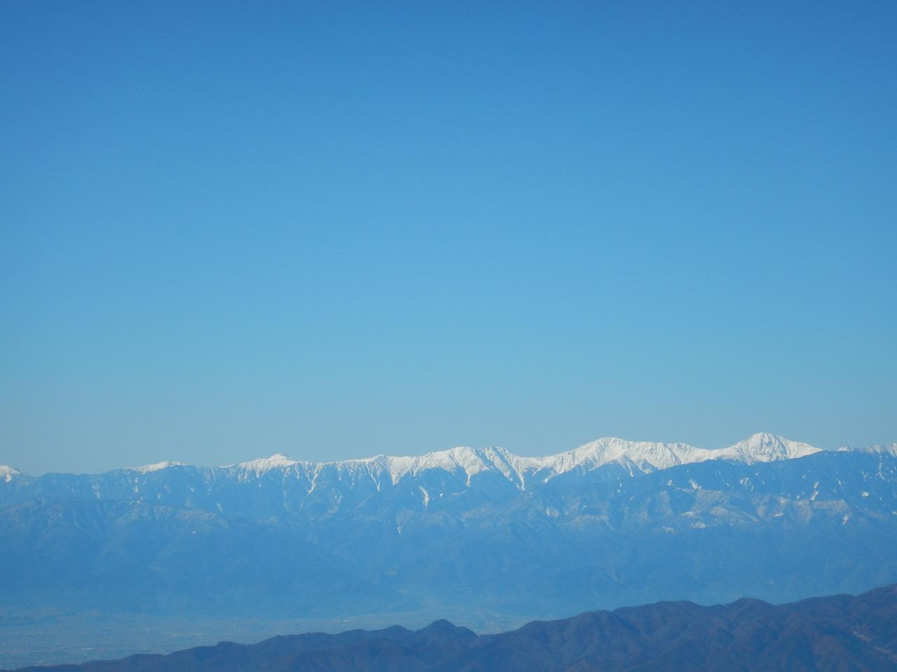 北岳~塩見岳