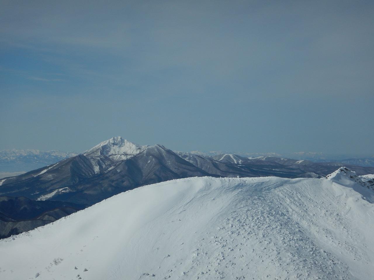 真冬の磐梯山