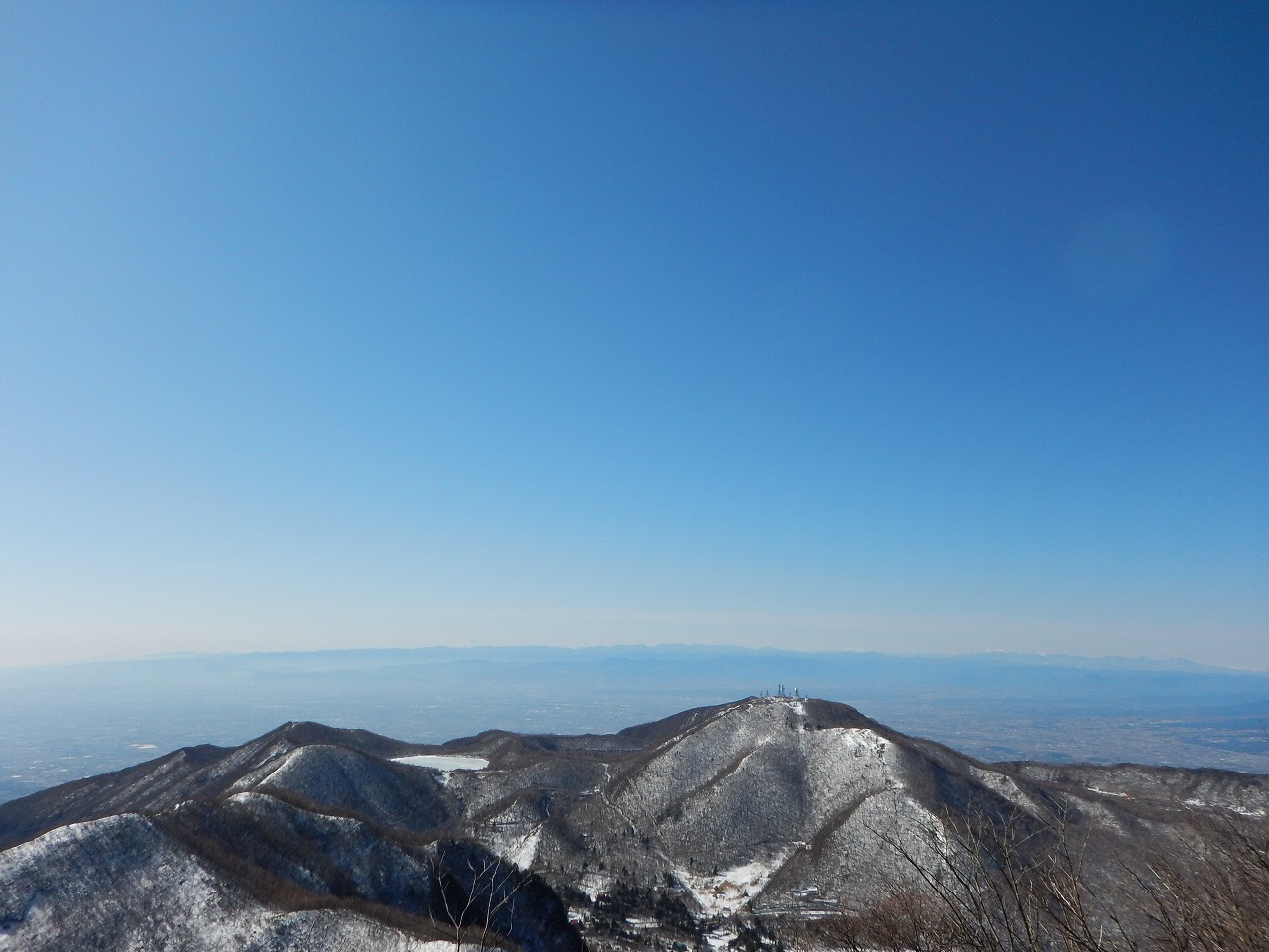 丹沢や富士山がばっちり