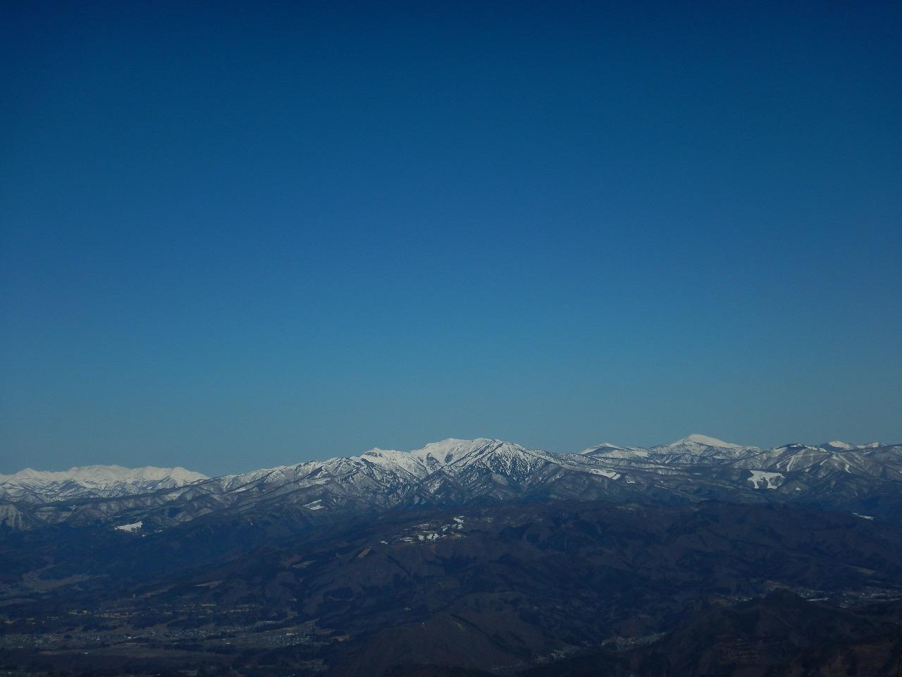 巻機山から武尊山、至仏山まで