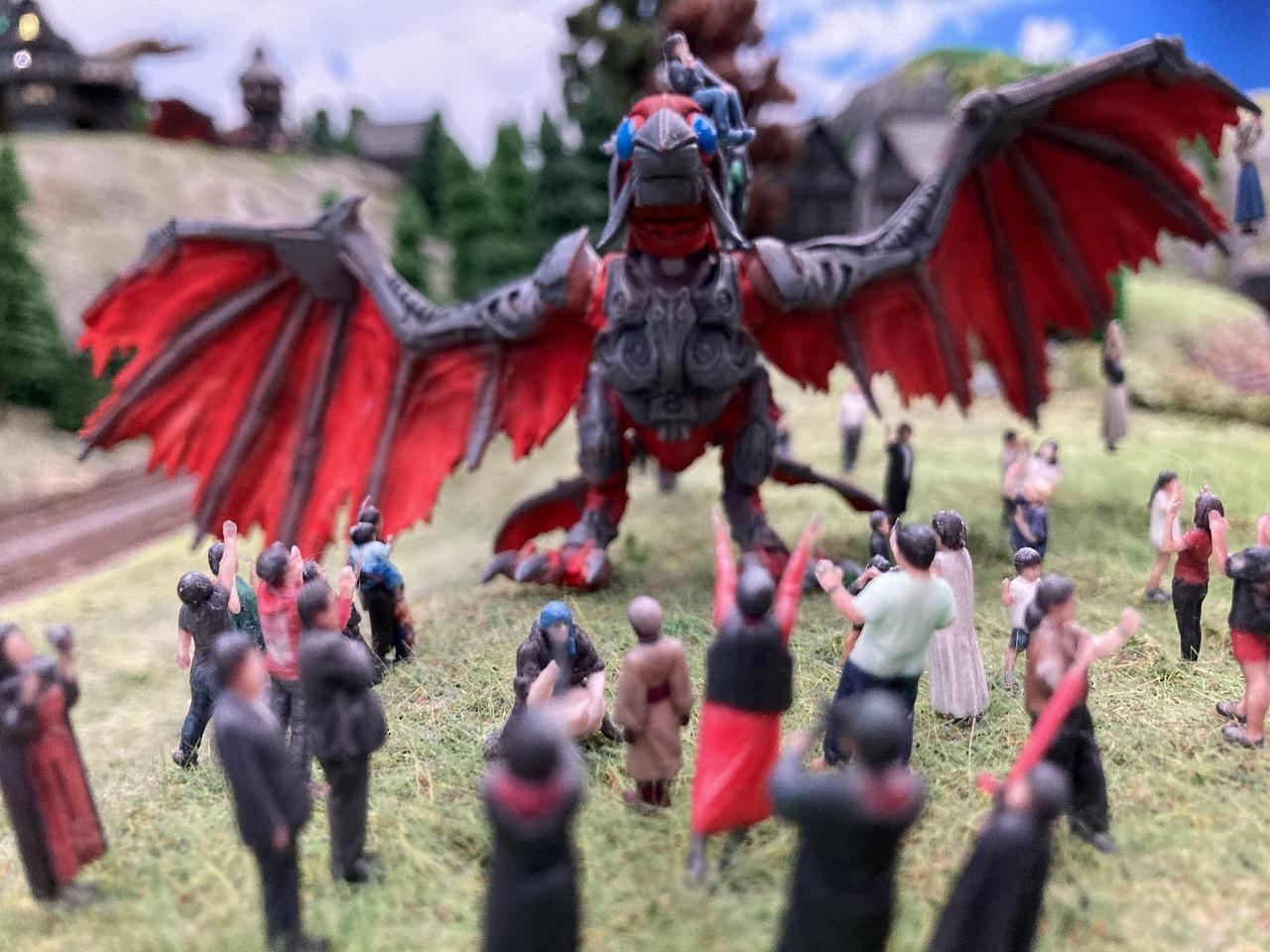 ドラゴンと人々