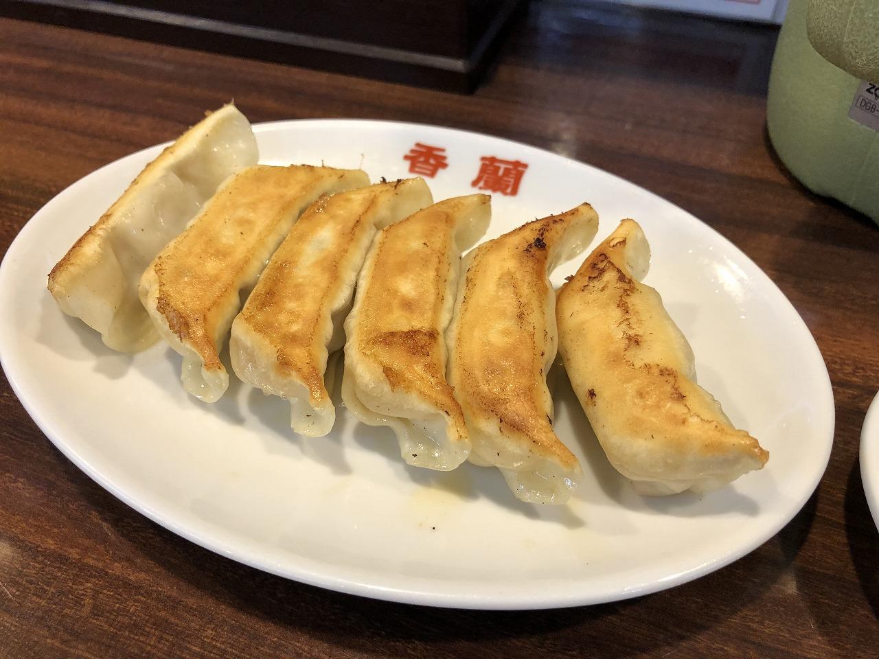香蘭の焼き餃子!