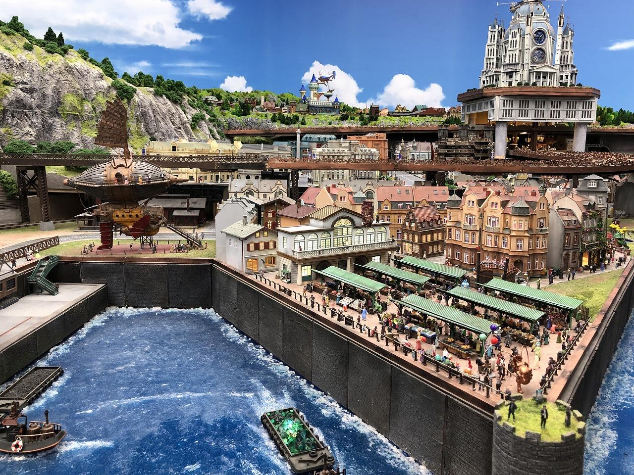 城下町には港もあります
