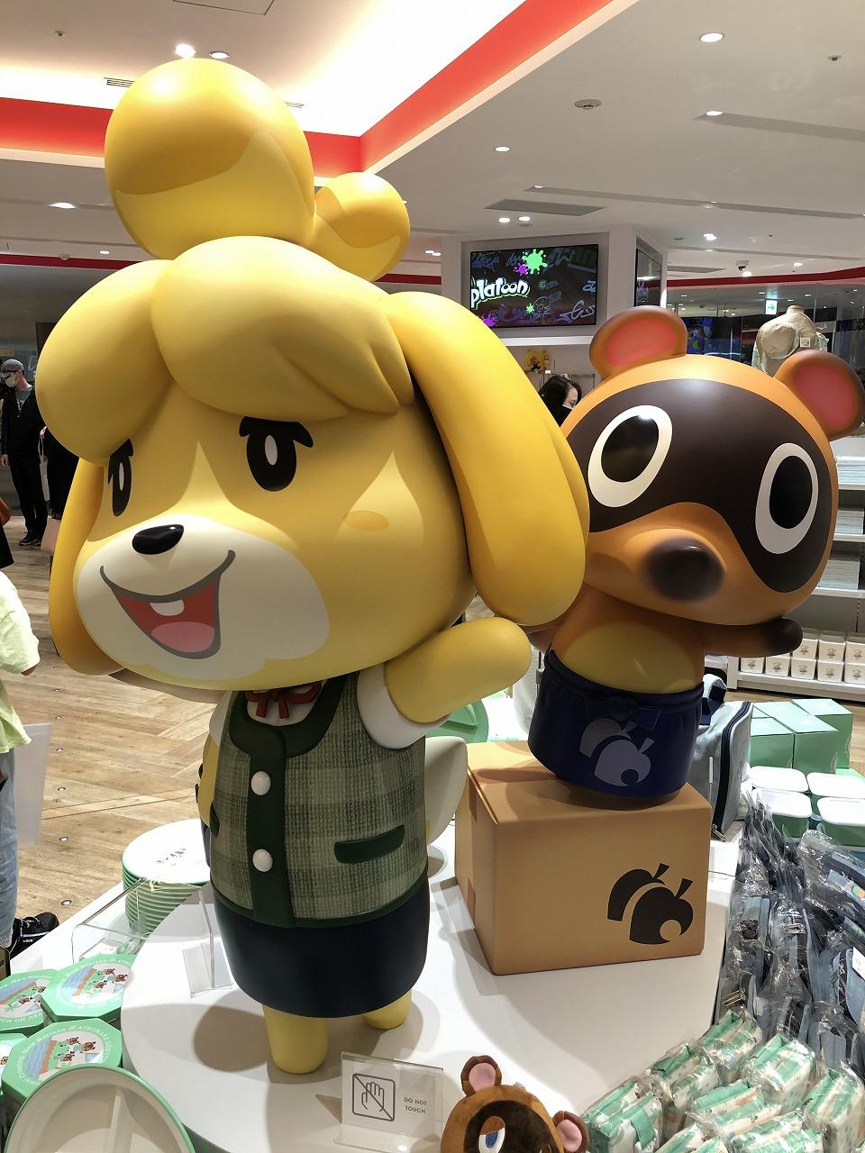 Nintendo TOKYOにて、あつ森