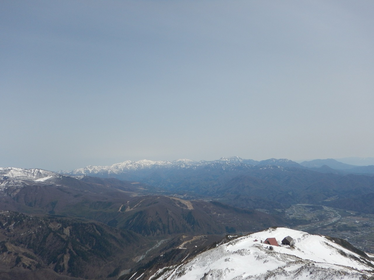 新潟の山々