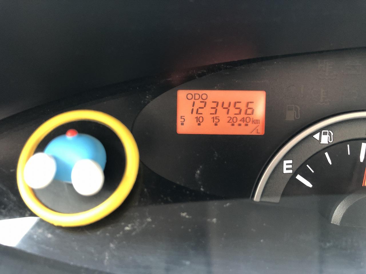 123456kmモーメント!