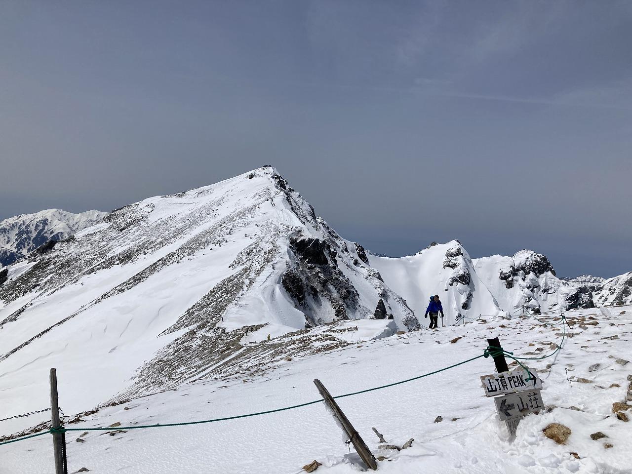 唐松岳山頂はあんな遠い・・・